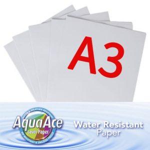 A3 Aqua Ace Paper 250 x Sheets