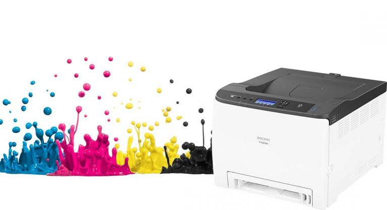 New Ricoh Printer – P C301W Colour A4