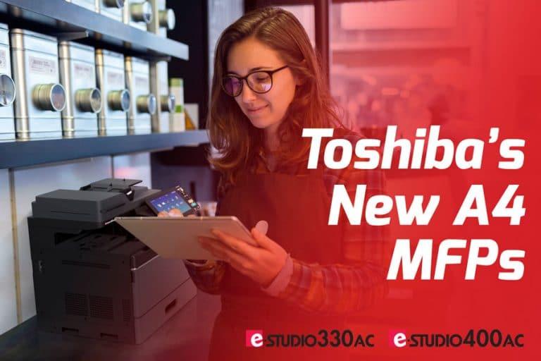 Toshiba launches new A4 MFD range